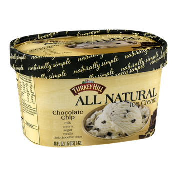 Turkey Hill All Natural Ice Cream Chocolate Chip
