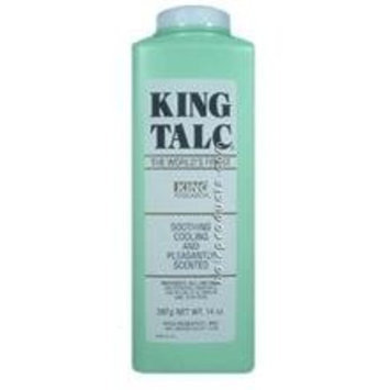 King Talc 9oz Talcum Soothing Cooling Scented Powder by King Research
