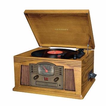 Crosley Radio Lancaster, Oak, 1 ea