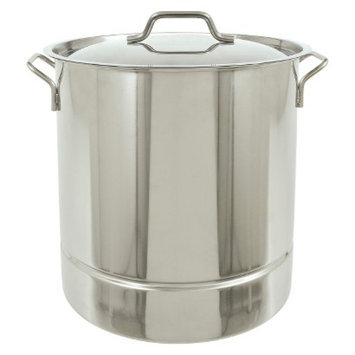 Barbour International Bayou Classic Stainless Tri-Ply Stockpot - 40 Qt.