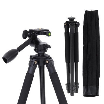 Yescomusa Oem Adjustable Aluminium Tripod Stand w/ Ball Head For DSLR Camera Travel Outdoor