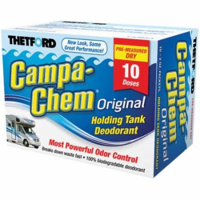 Thetford Campa Chem 10-Pack Toss-Ins, 2 oz Packets