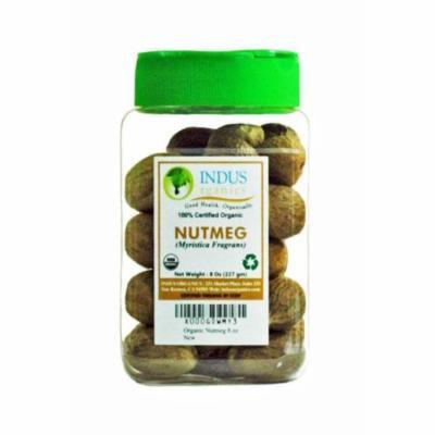 Indus Organics Nutmeg, 8 Oz