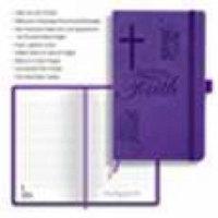 Journal Of Faith Notebook-Purple