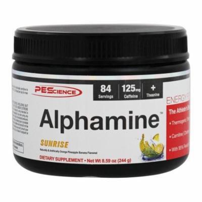 PEScience - Alphamine Energy Powder Sunrise - 8.59 oz.