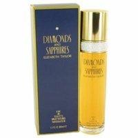 Elizabeth Taylor Diamond & Sapphires Eau De Toilette Spray for Women, 3.4 oz