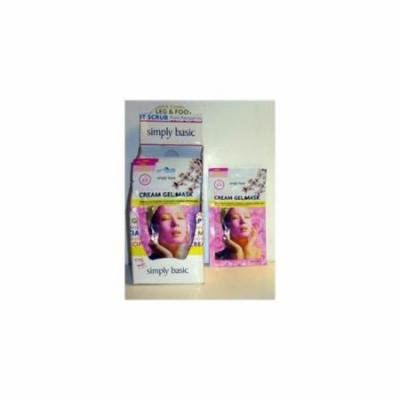 Simply Basic Cherry Blossom Cream Gel Mask Case Of 72