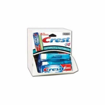 Crest Travel Toothpaste and Brush Combo Dispensit Case Case Of 144