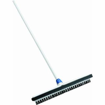 18 Wipe'n Dry Floor Squeegee with Brush and Handle