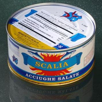 Italian Anchovies in Sea Salt by Scalia
