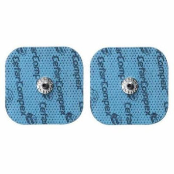 Compex Performance Electrodes Easy Snap Set 2 units 2 in x 2 in Pack of 2 Sets