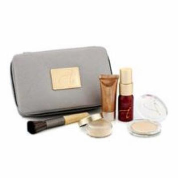 Jane Iredale Starter Kit (6 Pieces): 1xprimer & Brighter, 1xloose Mineral Powder, 1xmineral Foundation, ...