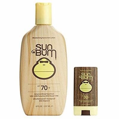 Sun Bum SPF 70 8oz Lotion + Face Stick SPF 30