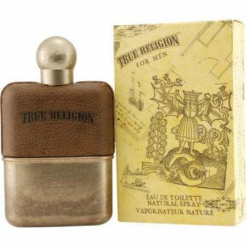 True Religion Eau De Toilette Spray for Men, 1.7 Ounce