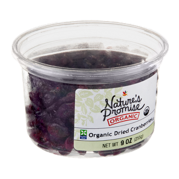 Nature's Promise Organic Cranberries Dried Organic