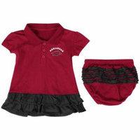 Infant Girls Arkansas Razorback Dress with Bloomers