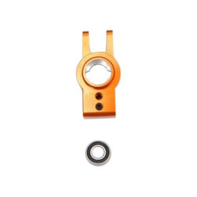 ST RACING CONCEPTS ST Racing Concepts STA80104O Aluminum Rear Hub Carriers with Bearings for The Exo Buggy, Orange