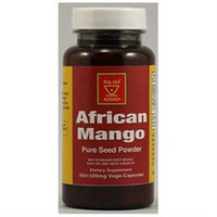 African Red Tea Imports African Mango Seeds Pure Powder - 100 Veggie Capsules