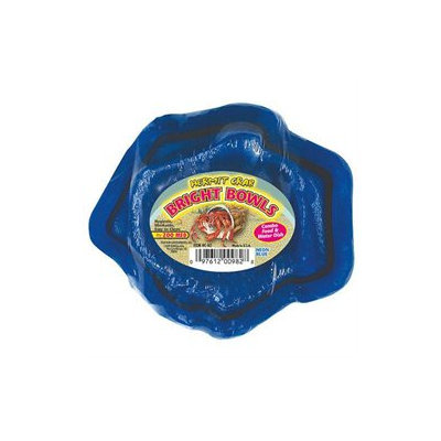 Topdawg Pet Supply Zoo Med Laboratories - Hermit Crab Bowls- Blue - HC-82