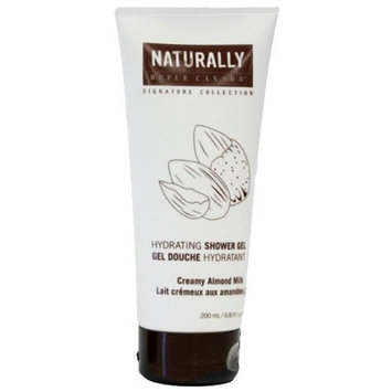 Upper Canada Naturally Signature Collection Shower Gel, Creamy Almond Milk, 6.8 Fluid Ounce