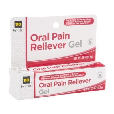 DG Health Oral Pain Reliever Gel, 0.33 oz