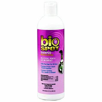 Bio Spot Flea & Tick Shampoo for Cats 12oz