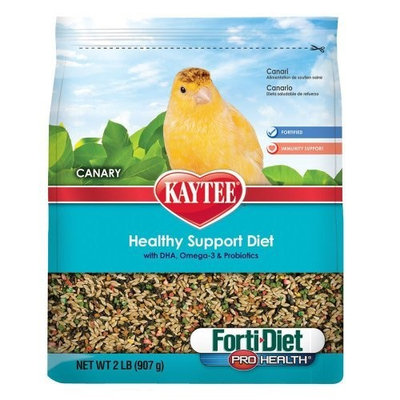 Kaytee Forti Diet Pro Health Food for Canaries, 25-Pound