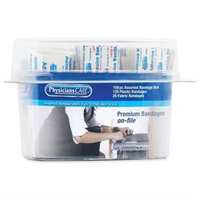PhysiciansCare First Aid Bandages, Assorted Sizes, Box Of 150