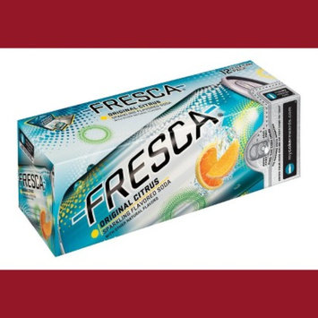 Fresca Citrus Soda 12 oz, 12 pk