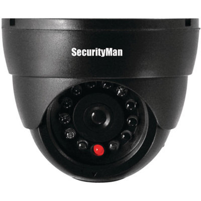 Securityman Security Man Sm-320S Dummy Indoor Dome Camera With Led