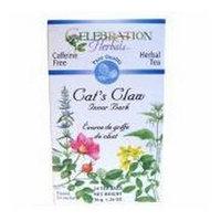 Celebration Herbals Herbal Tea Caffeine Free Cat's Claw Inner Bark -- 24 Tea Bags
