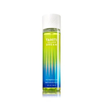 Bath & Body Works TAHITI ISLAND DREAM Fine Fragrance Mist 8 fl oz / 236 mL