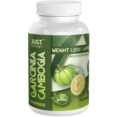 Just Potent High Grade Garcinia Cambogia Extract :: 3000mg Per Serving :: 90 Tablets :: Appetite Suppression:: Quality Tested, Quality Assured!