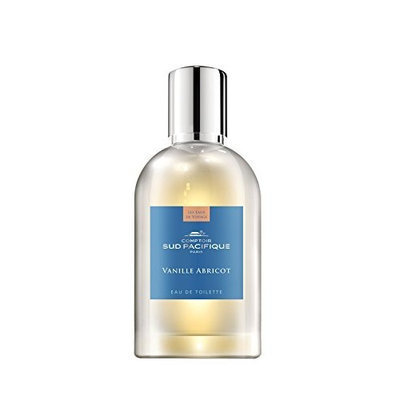 Comptoir Sud Pacifique Eau De Toilette Spray for Women, Vanille Abricot, 1.6 Oz