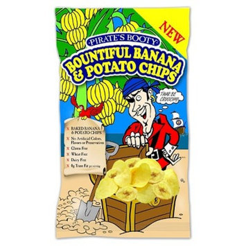 B&G Pirates Booty Bountiful Banana Chips 10 oz