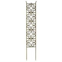 ACHLA Designs BBS-10 Jalousie Stake in Iron with Antique