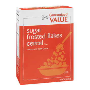 Guaranteed Value Sugar Frosted Flakes Cereal
