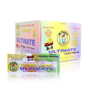 Mr. Pumice Pumi Bar Ultimate (Coarse/Green - Medium/Lavender) 1 Bar