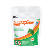 DG Home Laundry Pacs Spring Breeze -14 ct