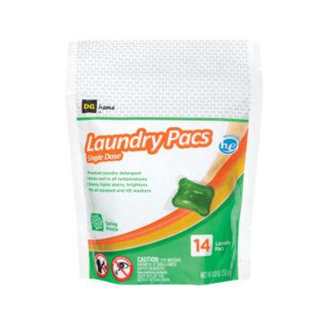 DG Home Laundry Pacs Spring Breeze -14 ct