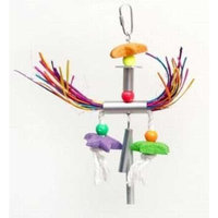 Prevue Pet Products BPV62520 Chime Time Bird Toy, Small/Medium, Windy