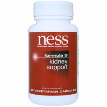 Ness Enzymes, Kidney Support #9 90 vegcaps