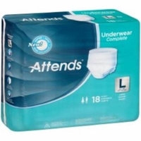 ATTENDS Absorbent Underwear Attends Pull On Large Disposable Heavy Absorbency (#APP0730, Sold Per Pack)