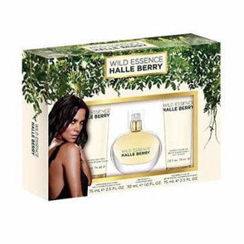 Halle Berry Wild Essence 3 Piece Fragrance Set by Halle Berry