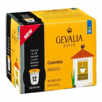 Gevalia Colombia Coffee K-Cups, 4.12 OZ (Pack of 6)