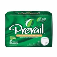 First Quality Absorbent Underwear Prevail Extra Pull On Medium Disposable Moderate Absorbency (#PV-512, Sold Per Pack)
