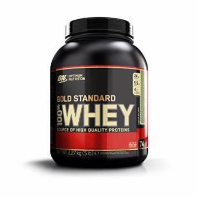 Optimum Nutrition 100% Whey Gold Standard, Chocolate Mint, Net WT. 5 LB, 80 Ounce