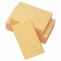 Cellulose Sponge, 6 L x 4-1/4 W x 1-1/2 H in, Medium