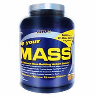 MHP, Up Your Mass Weight Gainer, Peanut Butter Cookie, 5 Pounds