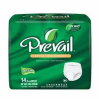 First Quality Absorbent Underwear Prevail Extra Pull On X-Large Disposable Moderate Absorbency (#PV-514, Sold Per Pack)